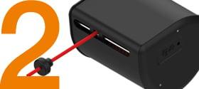可连续拉伸的 e-spool flex 电缆卷筒